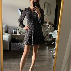 Loft petite long sleeve mini dress